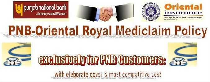 PNB-Oriental Royal Mediclaim Policy-Plans & Benefits Details